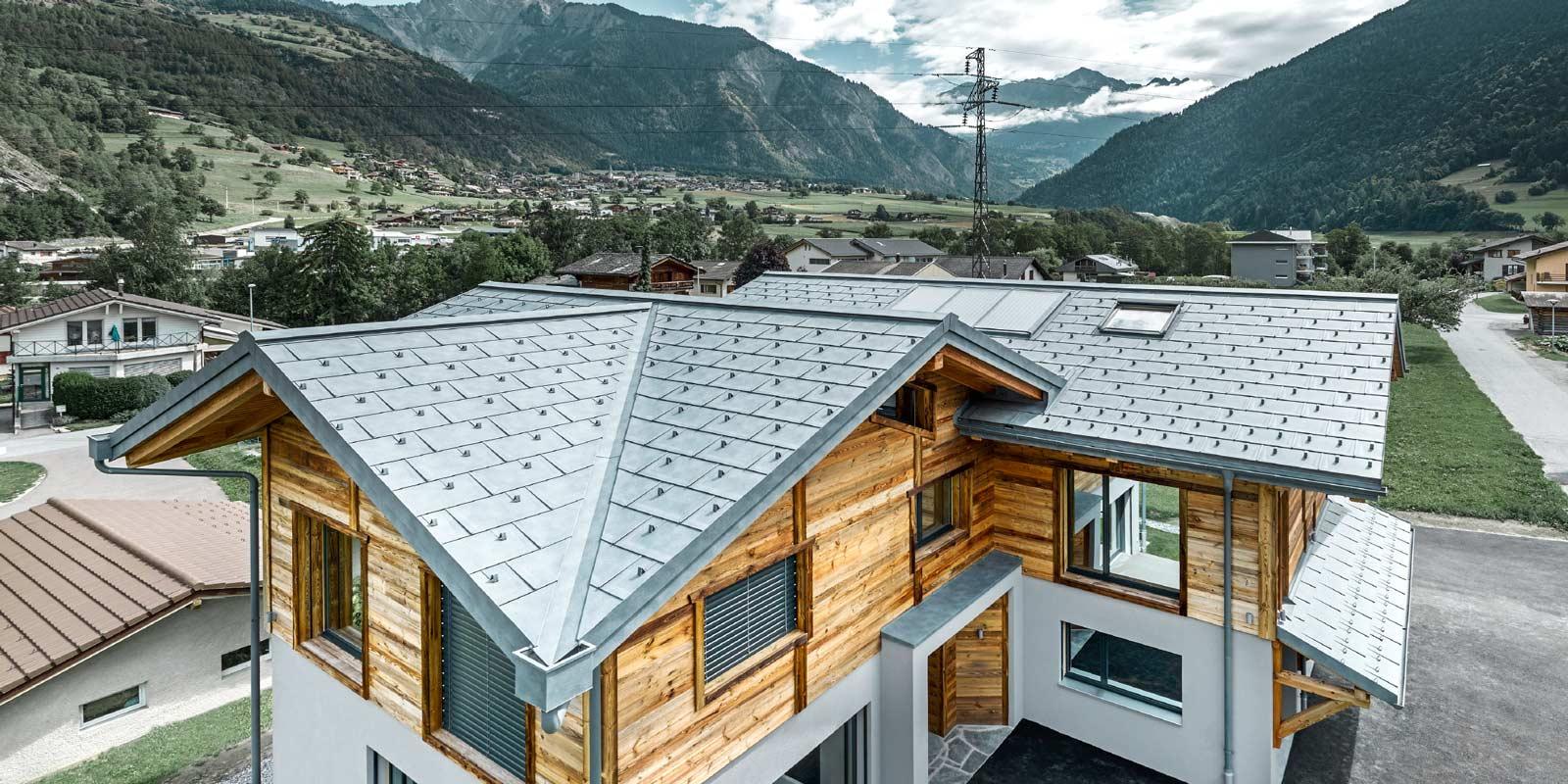 Fassaden Dachsysteme Aus Aluminium Prefa